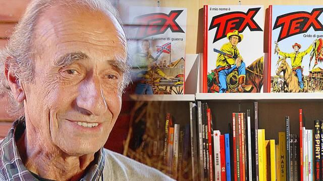 Giovanni Ticci, il disegnatore di Tex Willer foto da rsi.ch