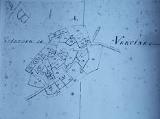 pianta di vertine nel 1822