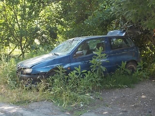 auto abbandonata pubblica assistenza castelnuuovo berardenga