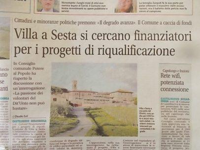 degrado villa a sesta, chiantisette 16 ottobre 2020