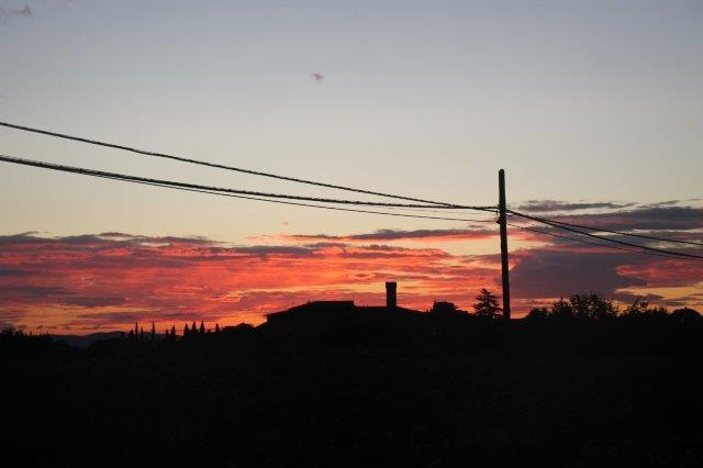 villa a sesta tramonto