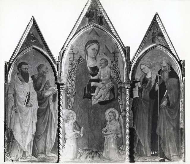 trittico bicci di lorenzo da fototeca fondazione zeri