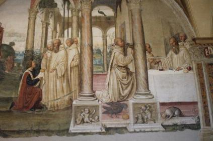 monte oliveto maggiore affreschi sodoma e luca signorelli (24)