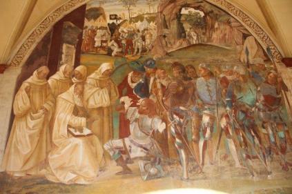 monte oliveto maggiore affreschi sodoma e luca signorelli (34)